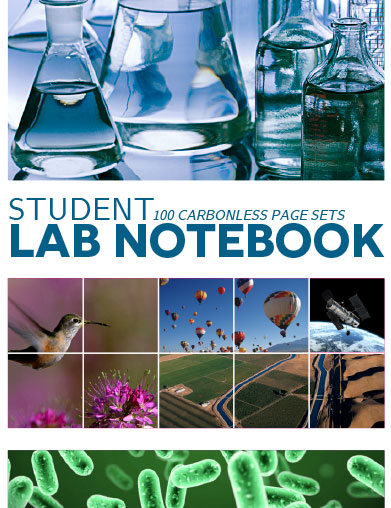 lab notebook cover